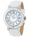 Women's Marina White Dial White Leather Watch