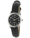 Women's Easy Reader Black Leather Strap Watch