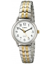 Women's Easy Reader Two-Tone Dressy Expansion Band Watch
