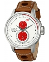 Men's S1 Rally Analog Display Japanese Quartz Brown Watch