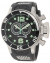 Men's Corduba Collection Interceptor Chronograph Grey Polyurethane Watch