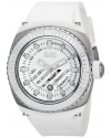 Men's Fortuna Analog Display Swiss Quartz White Watch