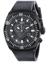 Men's Fortuna Analog Display Swiss Quartz Black Watch