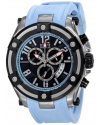 Elini Barokas Men's ELINI-10056-01-BBLSA Gladiator Analog Display Swiss Quartz Blue Watch