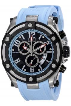 Men's Gladiator Analog Display Swiss Quartz Blue Watch