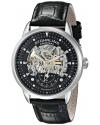 Men's Executive Automatic Skeleton Black Watch