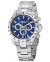 Men's Concorso Raceway Swiss Quartz Tachymeter Day and Date Stainless Steel Watch
