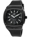 Magico Men's Dominator Black Textured Dial Black Silicone