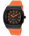 Men's Dominator Orange/Black Orange Silicone Watch