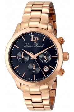 Lucien Piccard Women's LP-12914-RG-11 Coimbra Analog Display Japanese Quartz Rose Gold Watch