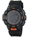 Men's Pro Trek Aviator Digital Display Quartz Black Watch