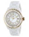 "Women's ""Karamica Collection"" White Ceramic Bracelet Watch"