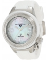 Women's Neptune White Mother-Of-Pearl Dial Diamond Accented Watch