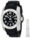Men's Commander Analog Display Swiss Automatic Black Watch