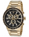 Men's Endurance Analog Display Swiss Quartz Gold Watch