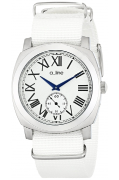 a_line Women's AL-80023-02-WH-NS1 Pyar Analog Display Japanese Quartz White Watch