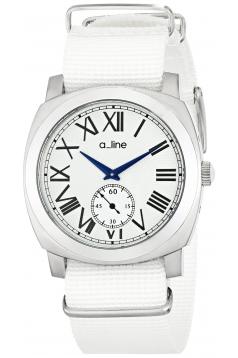 a_line Women's AL-80023-02-WH-NS1 Pyar Analog Display Japanese Quartz White Watch