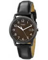 """Men's """"Elevated Classics"""" Watch with Leather Band"""
