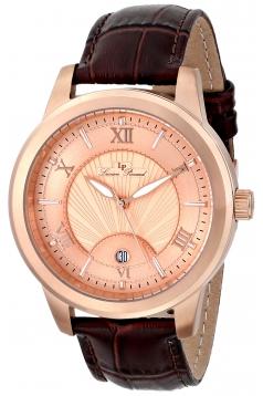 Men's Pizzo Analog Display Swiss Quartz Brown Watch