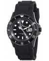 Women's Vaux Analog Display Japanese Quartz Black Watch
