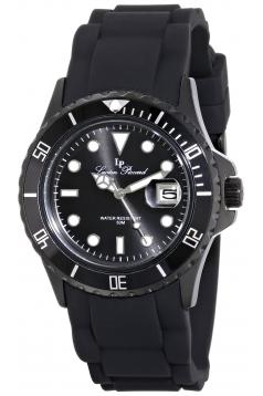Women's Vaux Analog Display Japanese Quartz Black Watch