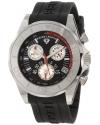 Men's Tungsten Chronograph Black Dial Watch