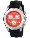 Men's Tungsten Analog Display Swiss Quartz Black Watch