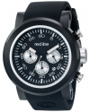 Men's Torque Sport Analog Display Japanese Quartz Black Watch