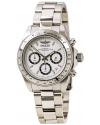 Men's Signature Quartz Chronograph White Dial Watch