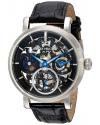 Men's Analog Display Mechanical Hand Wind Black Watch