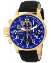 Men's I Force Collection 18k Gold Ion-Plated Stainless Steel and Cloth Watch