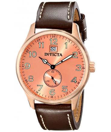 Invicta Men's 15515 I-Force Analog Display Japanese Quartz Brown Watch