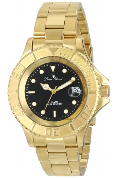 Men's Walen Analog Display Swiss Quartz Gold Watch