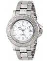 Men's Walen Analog Display Swiss Quartz Silver Watch