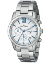 Lucien Piccard Men's LP-12356-23S Mulhacen Analog Display Japanese Quartz Silver Watch
