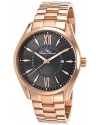 Men's Orion Analog Display Japanese Quartz Rose Gold Watch