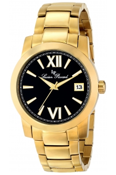 Men's Bordeaux Analog Display Japanese Quartz Gold Watch
