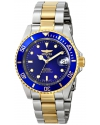 "Men's ""Pro Diver"" 23k Gold Plating and Stainless Steel Two-Tone Automatic Watch"