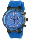 Men's Legato Cirque Analog Display Swiss Quartz Blue Watch