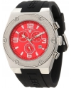 Men's Throttle Chronograph Red Dial Watch
