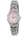 Women's Diamond Set Case Watch with Link Bracelet