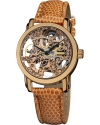 Women's Rose Gold Skeleton Automatic Watch