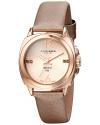 Women's Lady Diamond Analog Display Swiss Quartz Champagne Watch