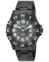 Men's Analog Display Japanese Quartz Black Watch