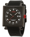 Men's Compressor 2 Black Dial Silicone Watch
