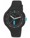 Women's Wave - Black Analog Display Quartz Black Watch