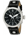Men's I-Force Analog Display Swiss Quartz Black Watch