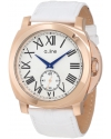 Women's Pyar White Leather Watch