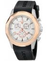 Men's Monte Carlo Analog Display Swiss Quartz Black Watch