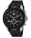 Men's Monte Carlo Black Silicone Watch